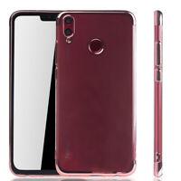 Huawei Honor 8X Hülle Case Handy Cover Schutz Tasche Schutzhülle Bumper Pink