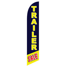 Trailer Sale 12ft Feather Banner Swooper Flag Replacement Flag Only