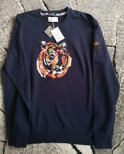 Springfield Embroidered Tiger Jumper Pullover Icon Edition Organic Cotton 2XL