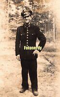 WWII WK2 German RPPC Photo Reichsbahn Railways Soldier r6