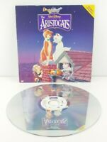 The Aristocats Laserdisc LD Walt Disney Masterpiece
