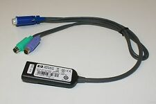 Original HP KVM CAT5 Interface Adapter RJ45 PS/2 VGA 262587-B21 396632-001