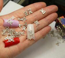 EXCLUSIVE 10 Pc 3D Nail Art Swarovski Logo Charms Nail Jewelry Women Small Gift