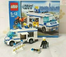 LEGO City Police Van Set 7286 - Boxed with Instructions - Near Complete