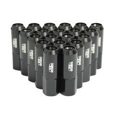 BLOX Black ALUMINUM WHEEL LUG NUTS x 20 PCS - 12 x 1.5 SUBARU TOYOTA HONDA