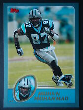 NFL 286 Muhsin Muhammad Carolina Panthers Topps 2003