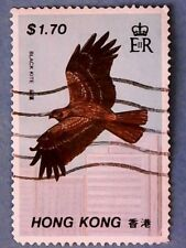 Hong Kong. QE2 1988 $1.70 Hong Kong Birds. SG570. P13½. Used.