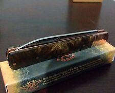 COPPER DOC DR. DOCTORS HUNTING POCKET KNIFE OLD FORGE !!!
