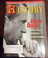 The History Channel Magazine November December 2006 Issue President Nixon