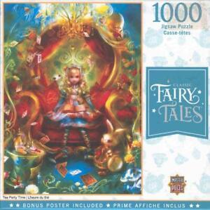 Shu MasterPieces 1000 Jigsaw Puzzle Tea Party Time NIB