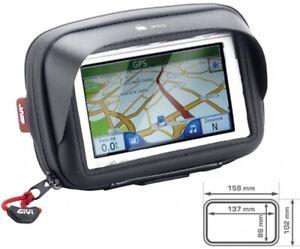 Motorrad Halter Navi GPS Smartphone mit Tasche S954 B 5 Zoll Sonnenschutz NEU