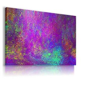 WATER COLORFUL GLASS MODERN ABSTRACT CANVAS WALL ART PICTURE LARGE WS163 X