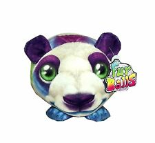 Fur Balls Rainbow Striped Panda Plush 4 inches #390207