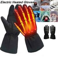 Elektro-Motorrad beheizte Handschuhe Winter Warm Power Wasserdicht Y1X3