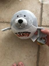 San Francisco Giants Seal MLB LUBIE Plush NEW stuffed animal Baseball NWT