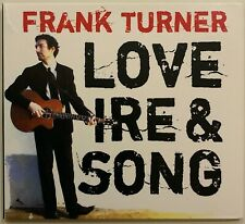 Frank Turner, Love Ire And Song, CD Album, 2008
