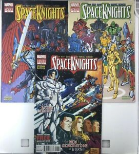 MARVEL COMICS SPACE KNIGHTS #1-3 NM COMPLETE MINI SERIES 1 2 3 NEXT WAVE