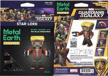 Guardians of the Galaxy Star-Lord Figure Metal Earth 3-D Laser Cut Steel Model