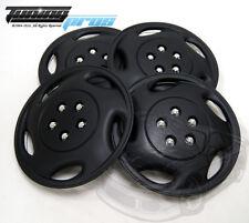 "Hubcap 15"" Inch Wheel Rim Skin Cover 4pcs Set Matte Black -Style 941 15 Inches-"
