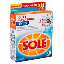 Sole Cura Lavatrice Classico Igienizzante Liquido Lavatrice 2x250ml
