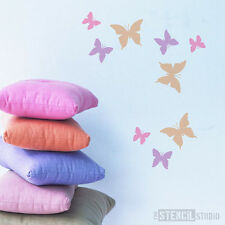 Beatrix Butterflies reusable WALL STENCIL Nursery stencils wall decor 10017