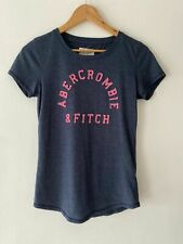 Abercrombie & Fitch New York Woman's Navy Blue Tee Shirt Size Small