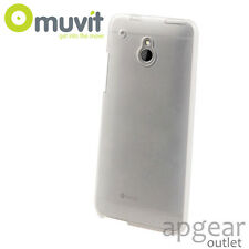 GENUINE MUVIT HTC ONE MINI CLEAR MINI GEL MUSKI0194 PHONE CASE COVER RETAIL PACK