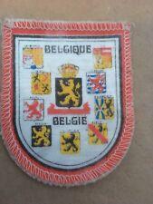 Souvenir Cloth patch, badge of BELGIUM