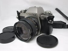 Contax S2 35mm Slr Camera /w Distagon 35mm F/2.8 Mmj Lens Set From Japan