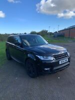 range rover sport ,spares or repair ,recovered
