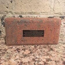 Jeff Gordon July 27, 2014 Brickyard 400 Winner Team Issued Commemorative Brick