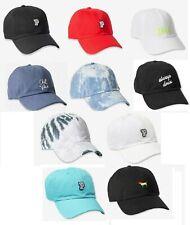 Victorias secret Pink Logo Baseball Hat Cap Adjustable Color Pink NWT