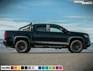 Stripe for Chevrolet Colorado Bed 2012 2015 2016 2017 2019 2020 2021 Sticker arm