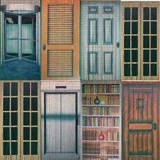 Delightful Bamboo Beaded Handmade Curtain Beads Window Door Room Divider Multi Door  Pattern