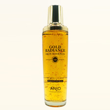 Anjo Gold Radiance Skin Essence 150ml 99.9% Pure Gold Powder K-Beauty
