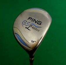 Ladies Ping G5 460cc 14° Driver Ladies Graphite Shaft Ping Grip