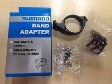 NIB Brand New Shimano Dura Ace SM-AD90-MS Derailleur Adapter Braze On 28.6/31.8