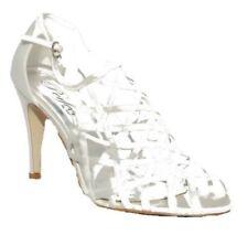 Patternless Standard Width (B) Slim Heels Textile