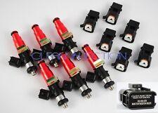 fit Nissan Skyline rb26dett RB26 r33 r34 r32 Bosch 850cc fuel injectors GTR 6