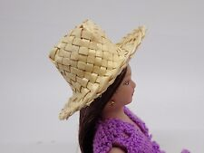 1:12 Scale Woven Straw (N)Hat Doll House Miniature Accessory