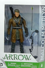"""ARROW - MALCOLM MERLYN 6"""" INCH/ ca.18cm ACTIONFIGURE VON DC COLLECTIBLES #12"""