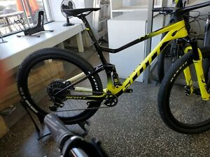 Scott spark RC 900 world cup full suspension mountain bike bicycle LG yellow