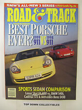 Road and Track Magazine  February 1998  Nine  Pages Artist Images From Monterey