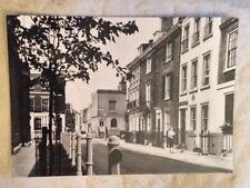 Postcard, Upper Cheyne Row, Chelsea; RP By Eric De Mare; Gordon Fraser Card