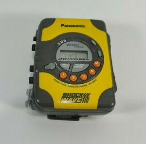 Panasonic Shock Wave RQ-SW10 Portable Cassette Player Tested