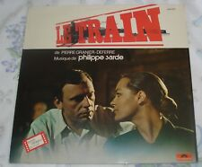 LE TRAIN (Philippe Sarde) rare original mint France stereo lp (1973)