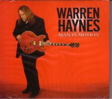 CD (NEU!) . WARREN HAYNES - Man in Motion (2011 mkmbh