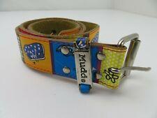 Mudd Leather Colorful Belt Size M/L Handbags Shoes