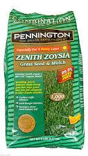 Pennington Zenith Zoysia Grass Seed & Mulch - 5 Lbs.