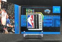 2015-16 Preferred NIKOLA VUCEVIC NBA LOGOMAN 1/1 non-ROOKIE STAT LINE Booklet 💎